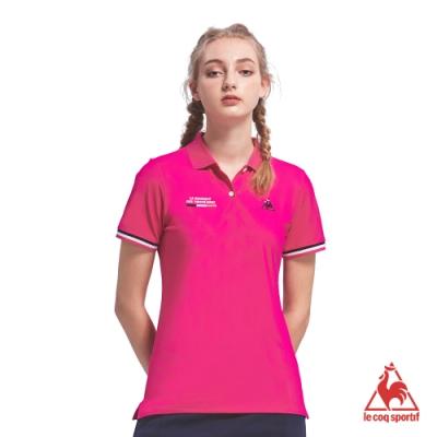 法國公雞牌短袖POLO衫 LOM2314273-女-桃紅
