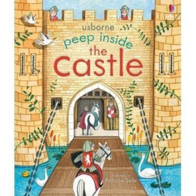 Peep Inside The Castle 瞧瞧看翻頁操作書:中古城堡