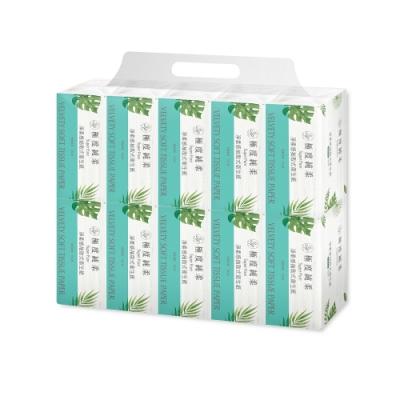 Superpure極度純柔淨柔感抽取式花紋衛生紙100抽100包/箱x2