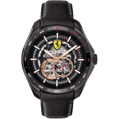 Scuderia Ferrari 法拉利 鏤空機械錶(FA0830688)-44mm