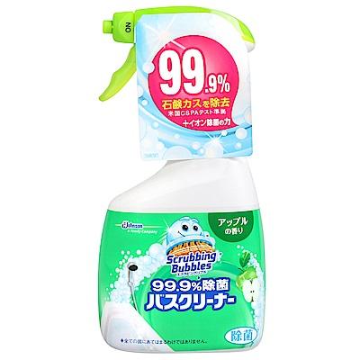 JOHNSON Scrubbing Bubbles浴室除菌清潔噴霧-蘋果香氛(400ml)