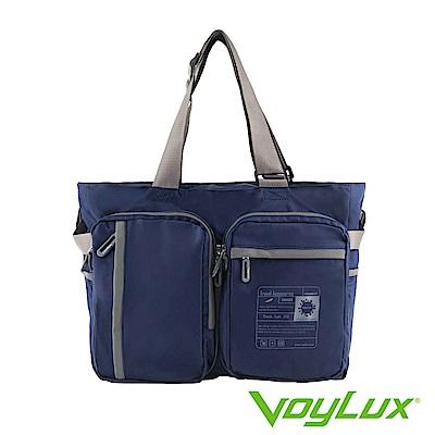 VoyLux 伯勒仕-魔術折疊系列-三用折疊托特包藍色-3684319