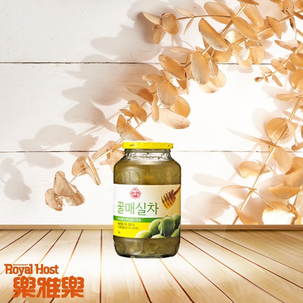 RoyalHost樂雅樂 韓國不倒翁Ottogi 蜂蜜青梅茶(1KG)
