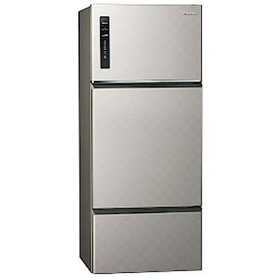 Panasonic國際牌 481L 1級變頻3門電冰箱 NR-C489TV (北北基送安裝)