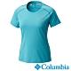 Columbia 哥倫比亞女款-鈦 防曬15涼感快排短袖上衣-湖水藍 AR19820 product thumbnail 1