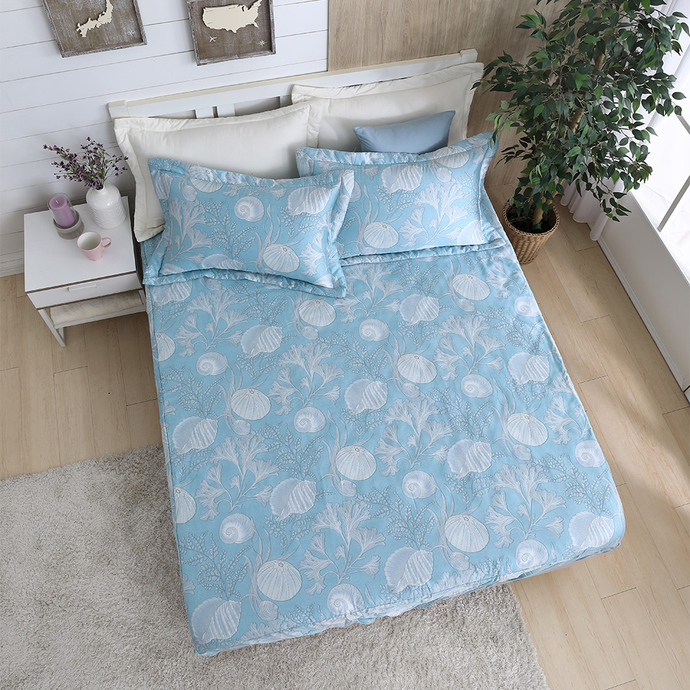 DESMOND岱思夢 加大100%天絲床包枕套三件組 冒險精靈