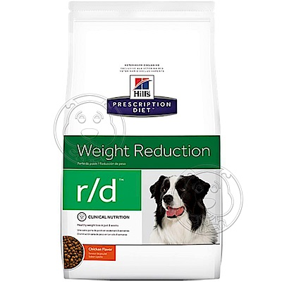 美國Hills希爾思》犬處方 r/d超重犬/健康減 肥-8.5LB(3.85KG)