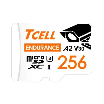 TCELL冠元 MicroSDXC UHS-I (A2)U3 256GB 監控專用記憶卡