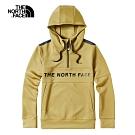The North Face北面男款卡其色舒適柔軟針織上衣|46HCJZ3