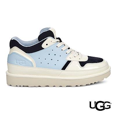 UGG休閒鞋 Highland拼接色塊潮流厚底運動鞋