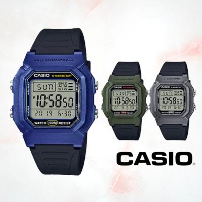 CASIO卡西歐 全新配色經典電子錶(W-800HM)