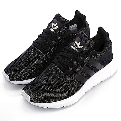 ADIDAS SWIFT RUN W 女慢跑鞋 CQ2018 黑