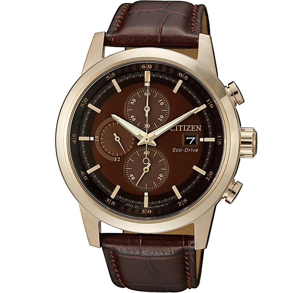 CITIZEN 急速傳說光動能計時腕錶(CA0612-14X)43mm