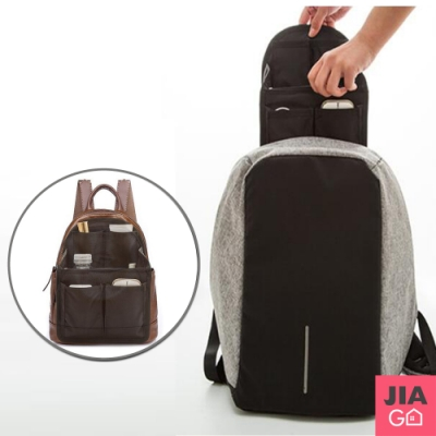 JIAGO 加大背包收納包中包