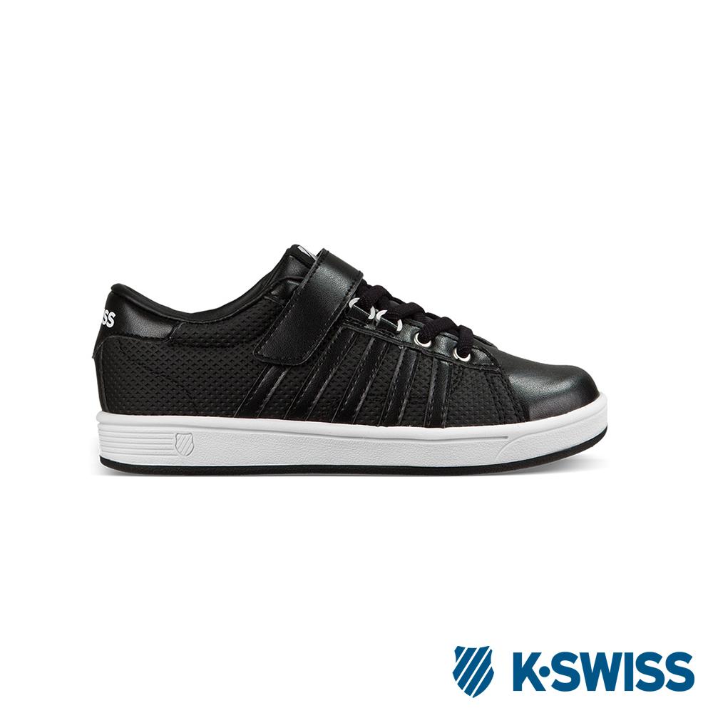 K-Swiss Hoke VLC休閒運動鞋-童-黑/白