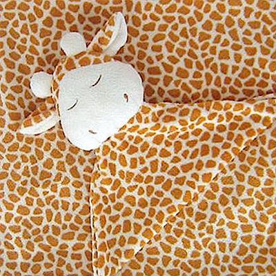 美國 Angel Dear 大頭動物嬰兒毛毯禮盒版 (長頸鹿系列)