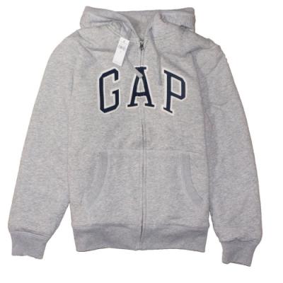 GAP 男生 連帽厚外套 灰 1441