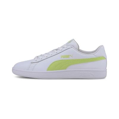 PUMA-Puma Smash v2 L 男女復古網球運動鞋-白色