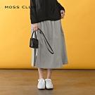 【MOSS CLUB】日本布料雙開岔休閒-長裙(二色)