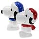 日本MARIMO CRAFT中型史努比存錢筒SNOOPY撲滿SPY-579紅帽/SPY-580藍帽史奴比貯金箱儲錢筒儲蓄罐(陶製;約H150×W90×D130mm)日本原裝進口 product thumbnail 1
