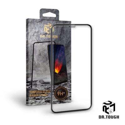 Dr.TOUGH 硬博士 iPhone 12 / 12 Pro 2.5D滿版強化版玻璃保護貼-高倍數強化