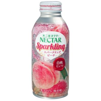 不二家 NECTAR碳酸飲料-水蜜桃風味(380ml)