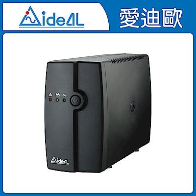 愛迪歐IDEAL 600VA LED 在線互動式不斷電系統 IDEAL-5706C(360W)