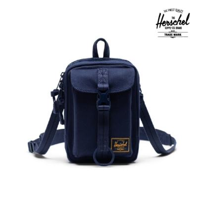 【Herschel】Form Large 斜背包-深藍色