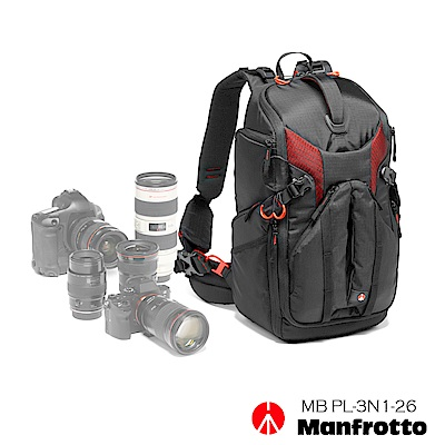 Manfrotto 旗艦級3合1雙肩背包 26L 3N1-26 PL Backp...