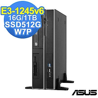 ASUS WS660 SFF E3-1245v6/16G/1TB+512G/W7P