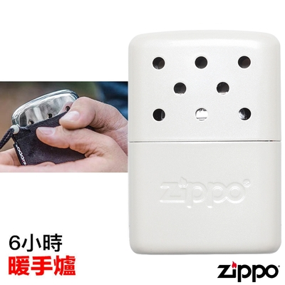 Zippo 6小時暖手爐/懷爐Refillable Hand Warmer 白色