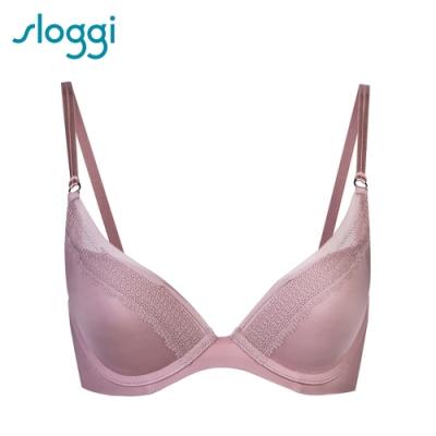 sloggi S by sloggi Silhouette高端系列低V D罩杯內衣 柔膚粉紅 16-8117 G2