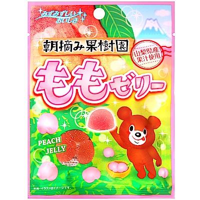八雲製菓 果樹園水蜜桃軟糖(45g)