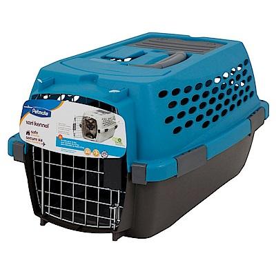 美國Petmate 豪華運輸籠(31P)藍黑色