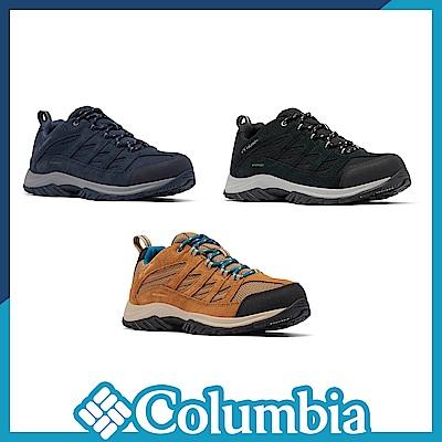 Columbia 哥倫比亞 男女款 - Omni-Tech 防水登山鞋-深3色 UBM53720