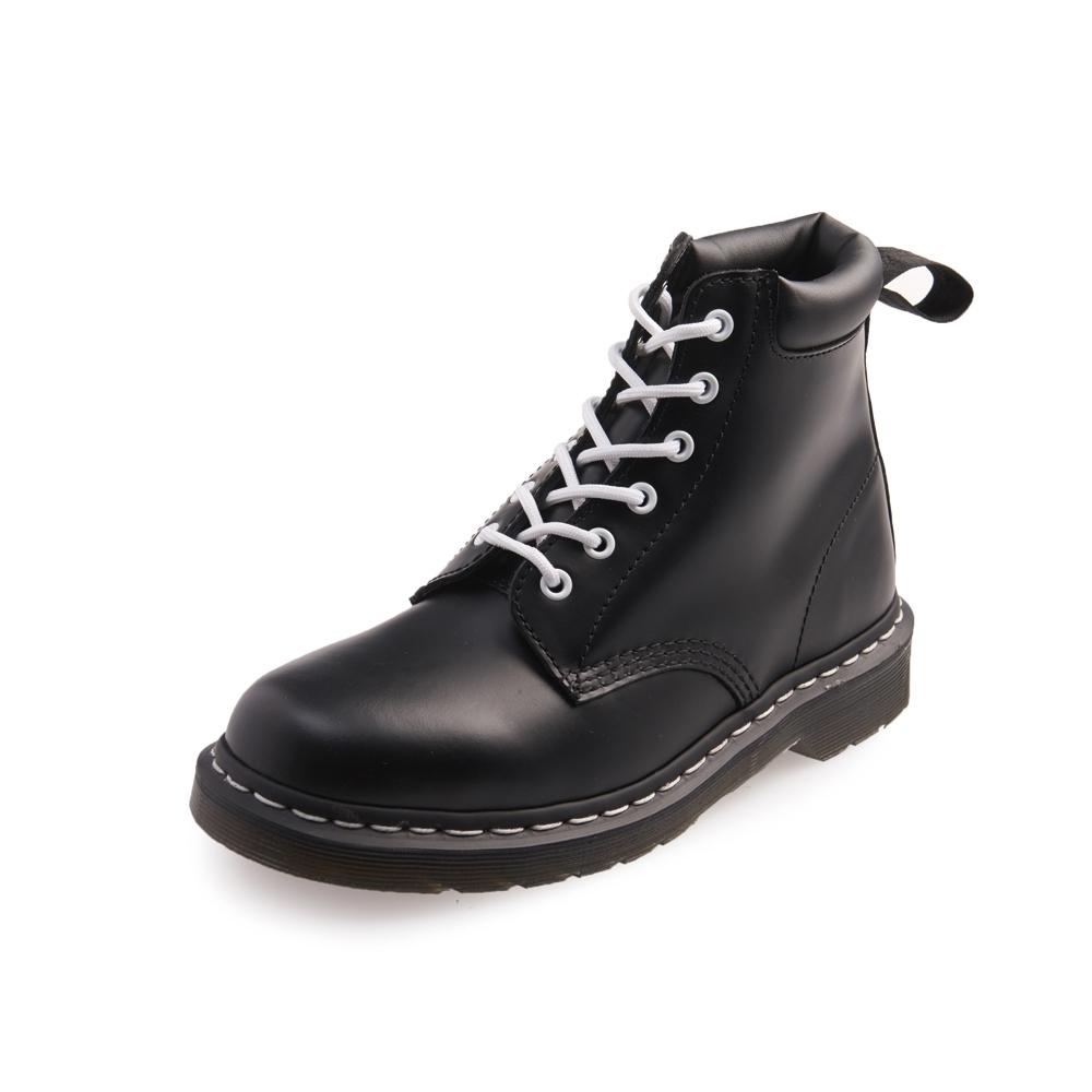 Dr.Martens-經典939 6孔亮皮馬汀靴-黑色R16754001