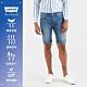 Levis 男款 上寬下窄 405膝上牛仔短褲 / Cool Jeasn輕彈有型 / 深藍刷白 product thumbnail 2