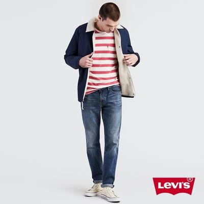 Levis 男款 上寬下窄 502Taper牛仔褲 復古刷白
