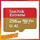 SanDisk Extreme microSDXC UHS-I(V30)(A2)256GB product thumbnail 1