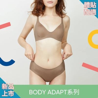 sloggi BODY ADAPT體貼適形系列中腰平口小褲 M-EL 琥珀棕 87-2210 CM