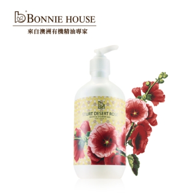 Bonnie House 沙漠玫瑰喚愛醒膚潔膚乳500ml