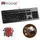 [送替換底紙]irocks K76MN CUSTOM 靜音 機械式鍵盤黑-茶軸 product thumbnail 1