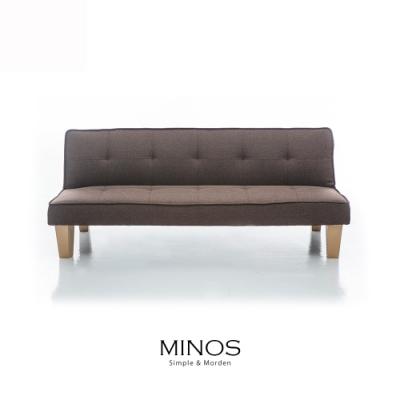 obis MINOS現代風簡約布沙發床(四色)