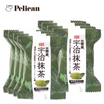 (8入組)Pelican 宇治抹茶綿密泡泡皂80gx8