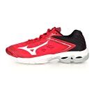 MIZUNO 男女 排球鞋 WAVE LIGHTNING Z5 紅黑白
