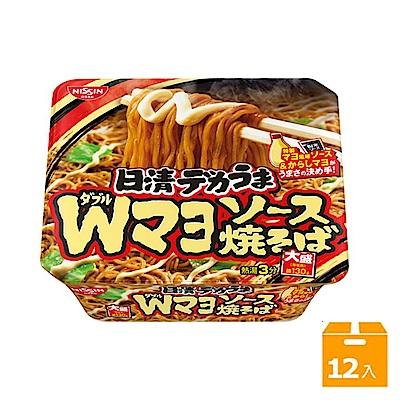 日清 大盛裝日式炒麵-芥末美乃滋味(153gx12碗)
