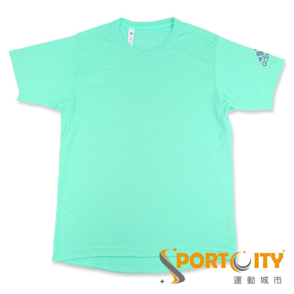 ADIDAS 男短袖上衣 CE0820-青綠