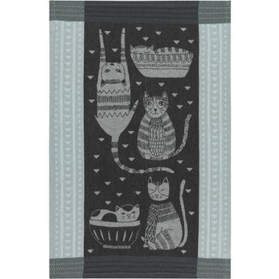 《NOW》餐廚布巾(貓派對)