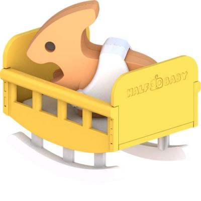 【HALFTOYS 哈福玩具】副櫛龍寶寶(PARA BABY)STEAM教育玩具