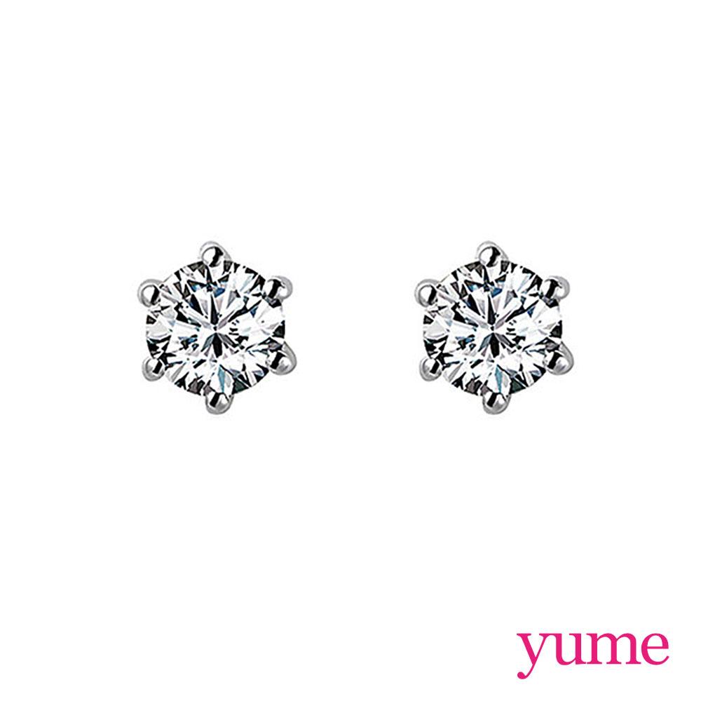 YUME 6爪單鑽耳環(5mm)